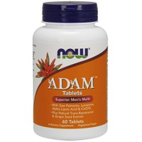 NOW ADAM SUPERIOR MEN'S MULTI 60TABL