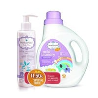 Pharmasept Set Baby Mild Laundry 1Lt & Baby Care Extra Sensitive Bath 250ml