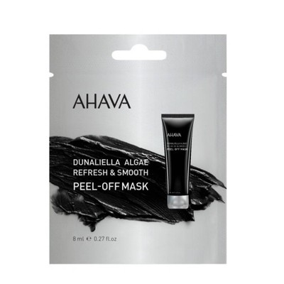 AHAVA DUNALIELLA ALGAE REFRESH & SMOOTH PEEL - OFF MASK 8ML