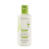 ADERMA EXOMEGA EMOLLIENT CLEANSING GEL HAIR&BODY 200ML