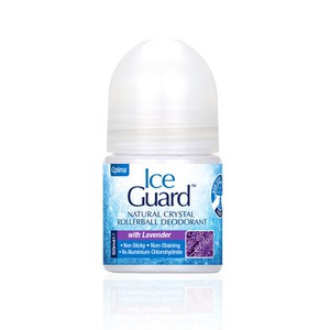 ICE GUARD Natural crystal with lavender deodorant roll on 50ml