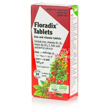 Power Health Floradix Iron & Vitamins Tablets - Πολυβιταμίνη με Σίδηρο, 84tabs