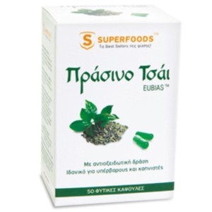 Superfoods food supplement green tea eubias 50caps