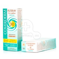 COVERDERM - FILTERAY Face Plus Oily/Acneic Tinted Cream SPF30 (Light Beige) - 50ml