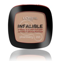 L'OREAL PARIS - INFALLIBLE 24h Powder Foundation No225 (Beige) - 9gr