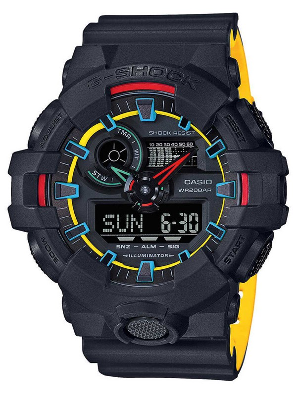 G-SHOCK Layered Neon Color