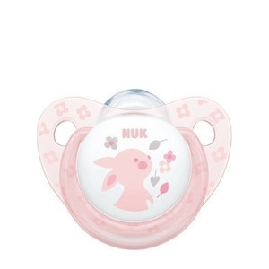 Nuk baby rose   blue 0 6 silicone