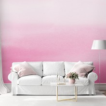 Ombre cottoncandy pink