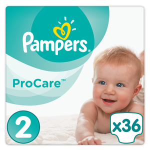 Pampers procare size 2 3 6kg  36s