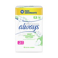 ALWAYS - COTTON PROTECTION Long (No2) - 18τεμ.