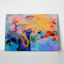 Abstract painting on glass 335775554 a
