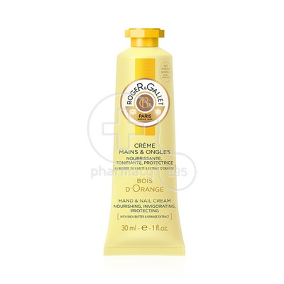 ROGER & GALLET - BOIS D'ORANGE Creme Mains & Ongles - 30ml