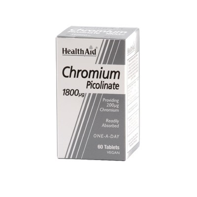 Health Aid - Chromium Picolinate - 60tabs