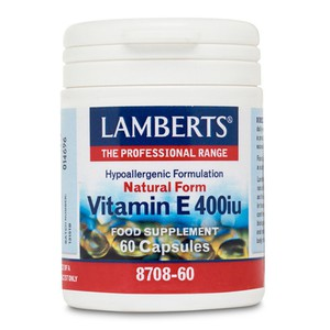 Lamberts natural form vitamin e 400iu 60s
