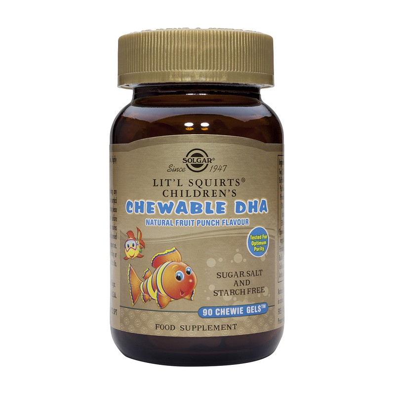 Childrens' Chewable DHA Chewie-Gels