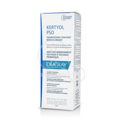 DUCRAY - KERTYOL P.S.O. Shampooing Traitant Reequilibrant - 200ml