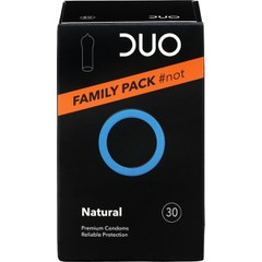 Duo Natural Family Pack - Προφυλακτικά, 30 τεμάχια