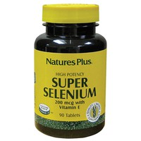 NATURE`S PLUS SUPER SELENIUM COMPLEX w/ VITAMIN E 200MCG  90TABLETS