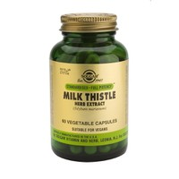 SOLGAR MILK THISTLE HERB SEED EXTRACT 60CAPS