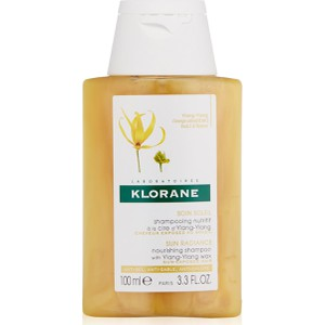 Klorane sun radiance nourishing shampoo with ylang ylang wax 100ml