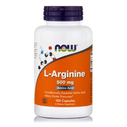 Now Foods L-Arginine 500mg 100Capsules