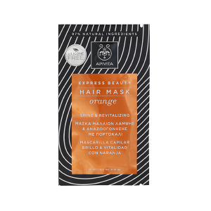 Apivita hair mask orange