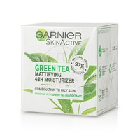 GARNIER - SKIN ACTIVE Green Tea Mattifying 48h Moisturizer - 50ml Combination - Oily Skin