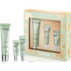Caudalie Urban Skin Essentials: Vineactiv 3 In 1 Moisturizer - Ενυδατική Κρέμα Προσώπου, 40ml & Δώρο Vineactiv Glow Activating Anti-Wrinkle Serum - Αντιρυτιδικός ορός, 10ml & Vineactiv Energizing & Smoothing Eye Cream - Αντιρυτιδική Κρέμα Ματιών, 5ml