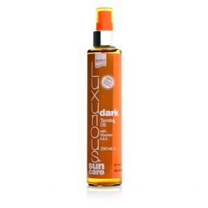 Intermed luxurious sun care dark tanning oil