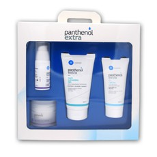 Medisei Panthenol Extra Promo Set Βαλιτσάκι Περιποίησης με 4 προιόντα. Face & Eye Serum 30ml, Face & Eye Cream 50ml, Face Cleasing Gel 150ml, Cream 100ml.