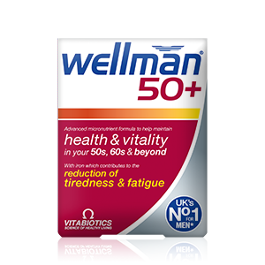 VITABIOTICS Wellman 50+ 30tablets