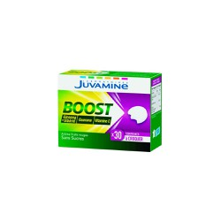 Juvamine Boost Ginseng+Vitamin C+Guarana 30 μασώμενα δισκία