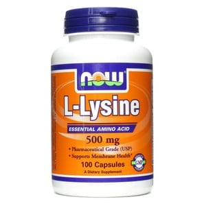 Now foods l lysine 500 mg