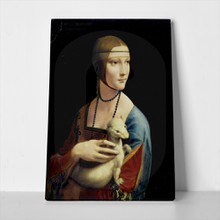 Da vinci the lady with an ermine