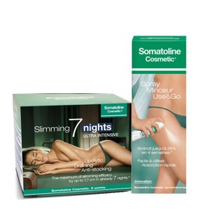 Somatoline 7 nights   spray minceur use and go