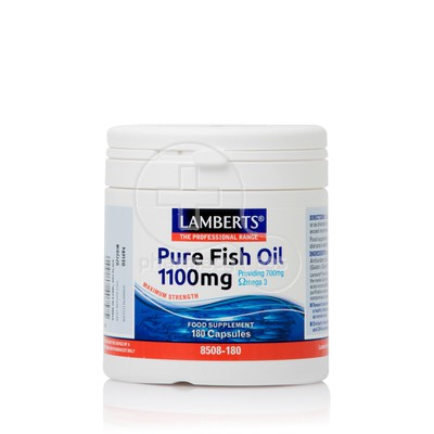 LAMBERTS - Pure Fish Oil 1100mg - 180caps