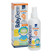 BABYDERM SUNSCREEN FACE&BODY LOTION SPF50 200ML