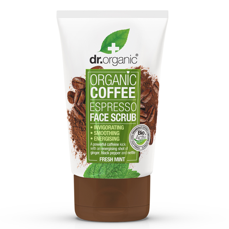 Organic Coffee Espresso Face Scrub 125ml