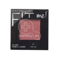 MAYBELLINE - FIT ME Blush No45 Plum - 5gr