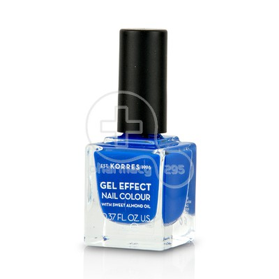 KORRES - GEL EFFECT Nail Colour No86 Ocean Blue - 11ml