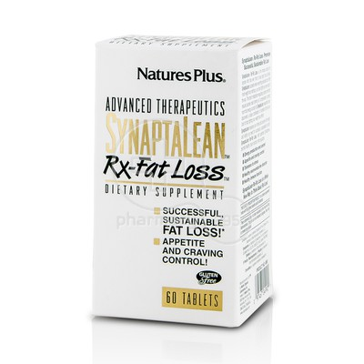 NATURE'S PLUS - Synaptalean RX-Fatt Loss - 60tabs