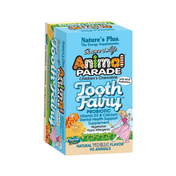 Nature's Plus Animal Parade Tooth Fairy 90 Chewable Tablets