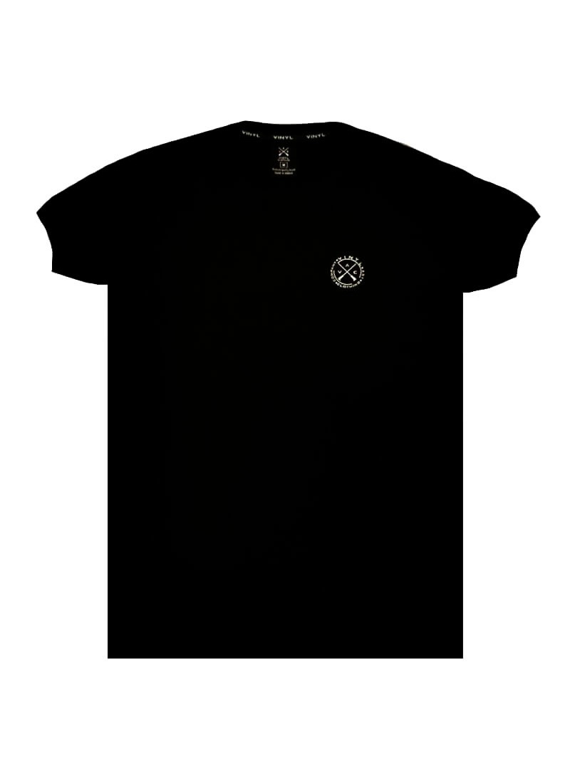VINYL ART CLOTHING BLACK BASIC T-SHIRT
