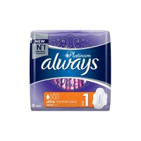 ALWAYS PLATINUM ULTRA NORMAL PLUS (SIZE 1) 8ΤΕΜ