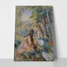 Auguste renoir  in the meadow3