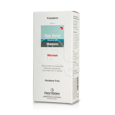 FREZYDERM - Hair Force Shampoo Women - 200ml