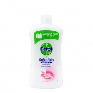 Dettol antibacterial liquid soap replacement with chamomile  750ml