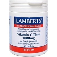 Lamberts Vitamin C Time Release 1000mg 30 Ταμπλέτες