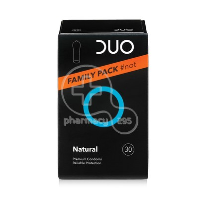 DUO - Προφυλακτικά Natural Family Not Pack - 30τεμ.