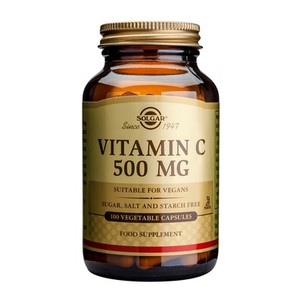 SOLGAR Vitamin C 500mg 100vegetable capsules